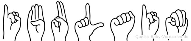 Ibulaim in Fingersprache für Gehörlose