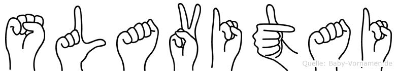 Slavitai in Fingersprache für Gehörlose