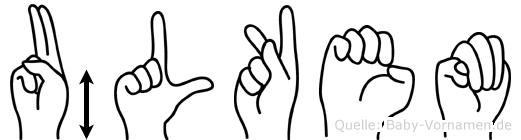 Ülkem im Fingeralphabet der Deutschen Gebärdensprache