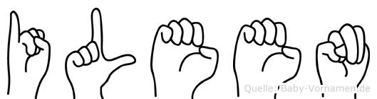 Ileen in Fingersprache für Gehörlose