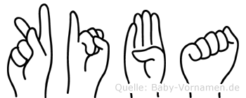 Kiba in Fingersprache für Gehörlose