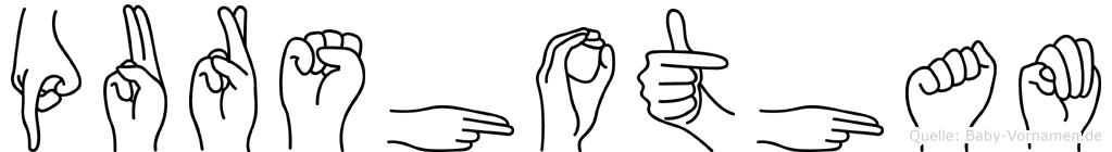 Purshotham in Fingersprache für Gehörlose