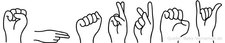 Sharkey in Fingersprache für Gehörlose