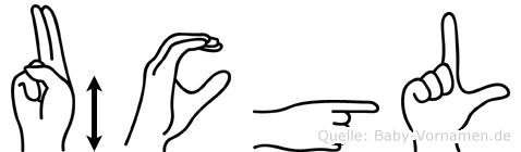 Ücgül in Fingersprache für Gehörlose