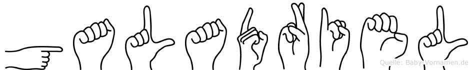 Galadriel in Fingersprache für Gehörlose