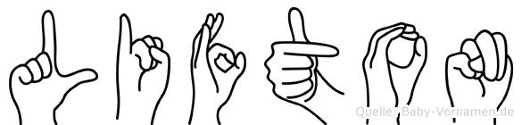 Lifton in Fingersprache für Gehörlose