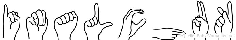 Inalchuk in Fingersprache für Gehörlose