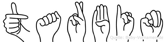 Tarbin in Fingersprache für Gehörlose
