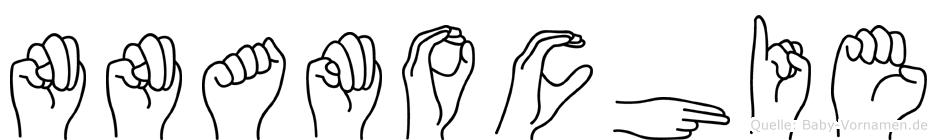 Nnamochie in Fingersprache für Gehörlose