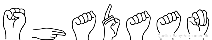 Shadaan in Fingersprache für Gehörlose