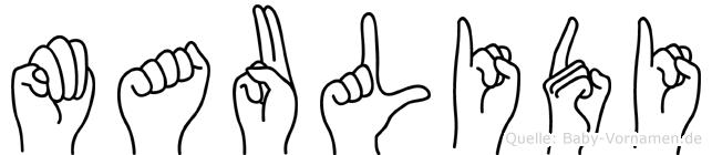 Maulidi in Fingersprache für Gehörlose