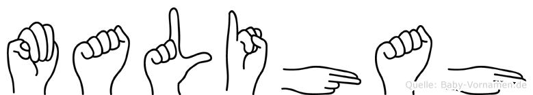 Malihah in Fingersprache für Gehörlose