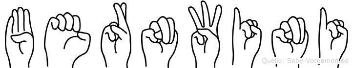 Bernwini in Fingersprache für Gehörlose