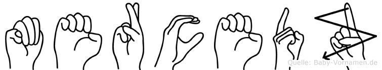 Mercedz in Fingersprache für Gehörlose