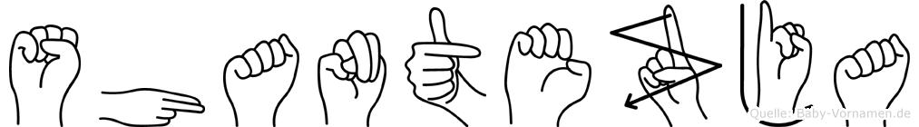 Shantezja in Fingersprache für Gehörlose