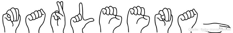 Marleenah in Fingersprache für Gehörlose