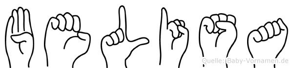 Belisa in Fingersprache für Gehörlose