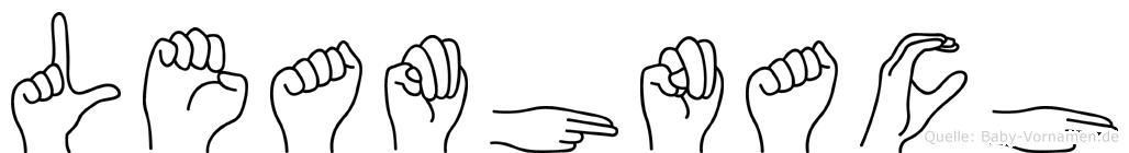 Leamhnach in Fingersprache für Gehörlose