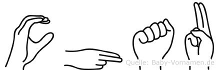 Chau in Fingersprache für Gehörlose