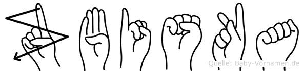 Zbiska in Fingersprache für Gehörlose