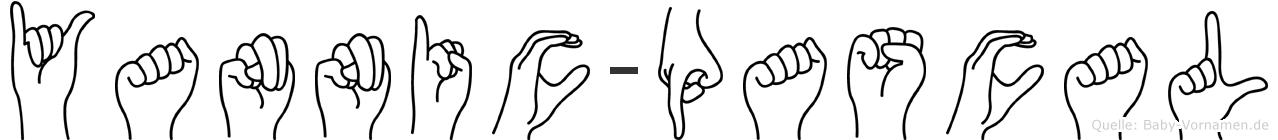 Yannic-Pascal im Fingeralphabet der Deutschen Gebärdensprache