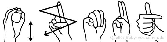 Özmut in Fingersprache für Gehörlose