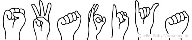 Swafiya in Fingersprache für Gehörlose