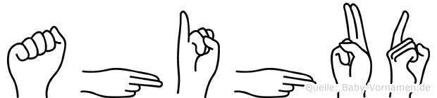 Ahihud in Fingersprache für Gehörlose