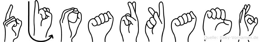 Djoarkaef in Fingersprache für Gehörlose