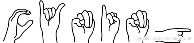 Cyning in Fingersprache für Gehörlose