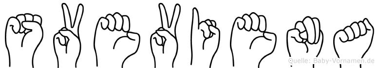 Sveviena in Fingersprache für Gehörlose
