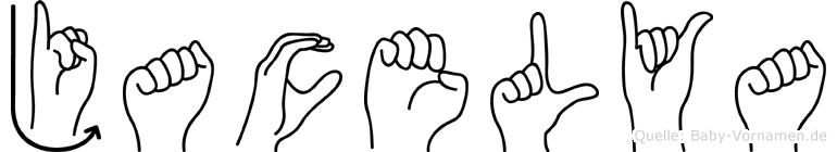 Jacelya in Fingersprache für Gehörlose