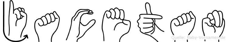 Jacetan in Fingersprache für Gehörlose