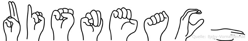 Uisneach in Fingersprache für Gehörlose