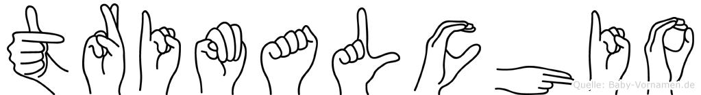 Trimalchio in Fingersprache für Gehörlose