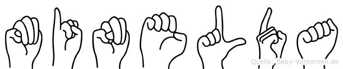 Minelda in Fingersprache für Gehörlose