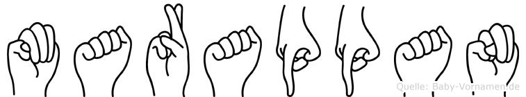 Marappan in Fingersprache für Gehörlose