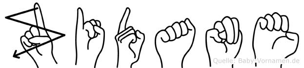 Zidane in Fingersprache für Gehörlose
