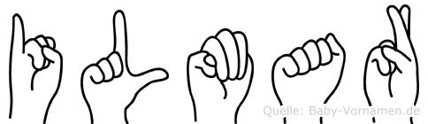 Ilmar im Fingeralphabet der Deutschen Gebärdensprache