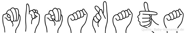 Minakata in Fingersprache für Gehörlose