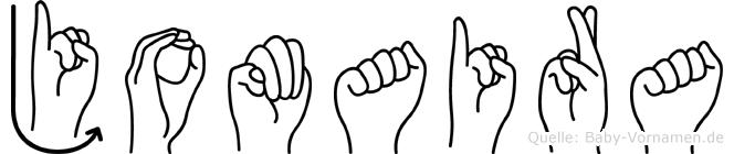 Jomaira in Fingersprache für Gehörlose
