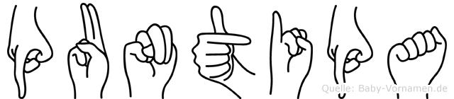 Puntipa in Fingersprache für Gehörlose