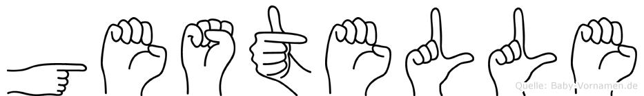 Gestelle in Fingersprache für Gehörlose