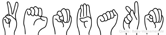 Venbakm in Fingersprache für Gehörlose