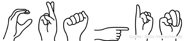Cragin in Fingersprache für Gehörlose