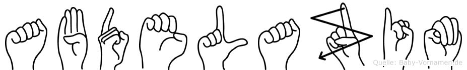Abdelazim in Fingersprache für Gehörlose
