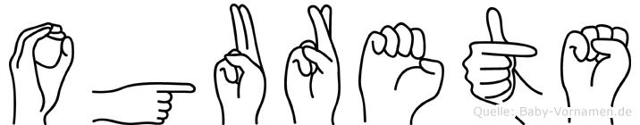 Ogurets in Fingersprache für Gehörlose