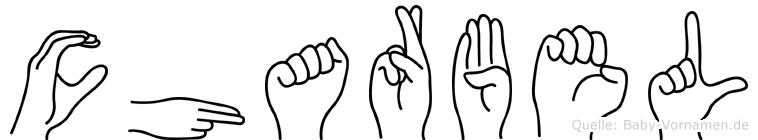 Charbel im Fingeralphabet der Deutschen Gebärdensprache