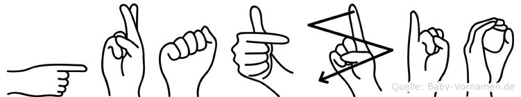 Gratzio in Fingersprache für Gehörlose