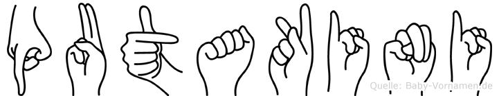 Putakini in Fingersprache für Gehörlose